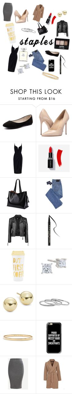 """""""staples..."""" by skylovessave ❤ liked on Polyvore featuring Verali, Massimo Matteo, Zimmermann, Boohoo, Too Faced Cosmetics, ban.do, Lord & Taylor, Kate Spade, Casetify and VILA"""