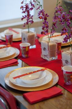 1000 images about chinese table setting on pinterest - New year dinner table setting ...
