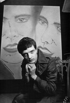 Kevin Cummins, Curtis Ian of Joy Division, published by Rizzoli