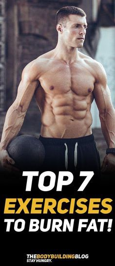Check out The Top 7 Exercises to Burn Fat! #exercise #workout #fitness #gym #cardio