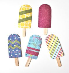 christina williams: Paper Popsicles