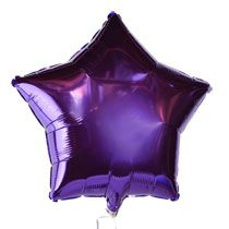 "Bulk Purple Star Foil Balloons, 18"" at DollarTree.com (Also have in pink)"