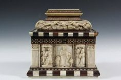 EMBRIACHI WORKSHOP BETROTHAL CASKET - Northern Italy, : Lot 271