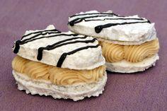 Víte, jak na Wiener Prater torte? Small Desserts, Sweet Desserts, Sweet Recipes, Cake Recipes, Slovak Recipes, Czech Recipes, Russian Recipes, Wiener Prater, Czech Desserts