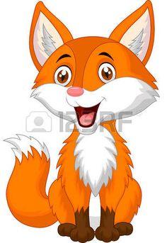 Bande dessin�e mignonne de renard photo                              …                                                                                                                                                                                 Plus