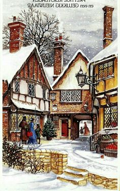 fete noel vintage gifs images - Page 2 Images Noêl Vintages, Images Vintage, Photo Vintage, Vintage Christmas Images, Christmas Scenes, Old Fashioned Christmas, Christmas Villages, Victorian Christmas, Christmas Past