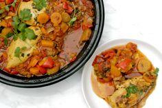 Tajine, is een stoofschotel uit het Midden-Oosten. Het is een traditioneel gerecht meestal op basis van vlees,gevogelte of groenten in combinatie met kruiden, aroma