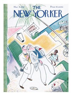 The New Yorker Cover - March 4, 1939 - by  Rea Irvin