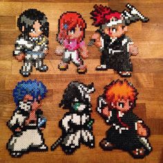 Bleach characters hama beads by melisjevisje