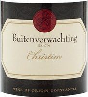 Buitenverwachting Christine 2008 Food Pics, Food Pictures, South African Wine, Buy Wine Online, Fine Wine, Label Design, Wines, Bottle, Recipes