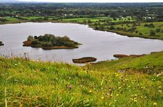 Lough Gur seen from atop the Faerie Hill where we heard the distant drumming and…