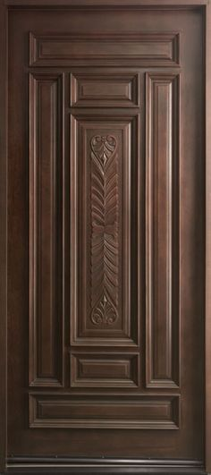 Entry doors are frequently more than just front doors– those we examined can additionally be used in back or on the side. Because the front entry of your residence regulates the most attention . Read Best Entry Doors Ideas That Really Great To Install Single Door Design, Wooden Front Door Design, Wooden Front Doors, Fiberglass Entry Doors, Wood Entry Doors, Wood Exterior Door, Rustic Doors, Pine Doors, Masonite Interior Doors