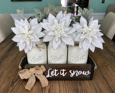 A personal favorite from my Etsy shop https://www.etsy.com/listing/539771008/rustic-christmas-decor-rustic-christmas