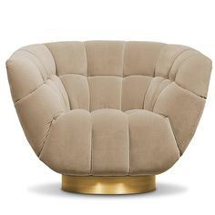 Living rooms may be everyone's favorite space in the home for the cozyness they afford. ESSEX armchair can be a great option for midcentury interior architectur