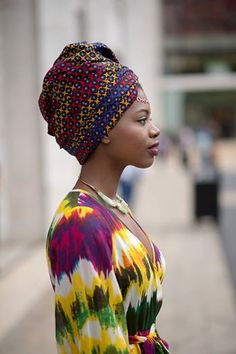Pagne et foulard
