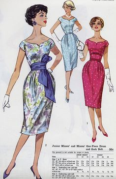 wiggle dress by Millie Motts, via Flickr