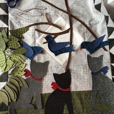 #bonniesullivan  #cottonandcolor #patchwork #patchworkquilt #quilt #patchworklovers #handicraft #handmade #creative #artesanato #quiltersofinstagram #madewithlove #quilterslife