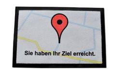 Die Navigation Fussmatte - Sie haben Ihr Ziel erreicht. :: auf ztyle.de