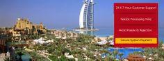 The world's most luxurious hotel – Burj Al Arab Dubai. Get your Dubai visa and enjoy beautiful sighteeing at Burj Al Arab. It is a wonderful creatiivity mix of  architecture and  technology.