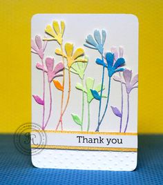 Jennifer McGuire used Fresh Daisies Die on this gorgeous card