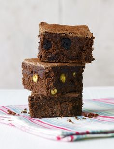 Who doesn't love squidgy chocolate brownies?
