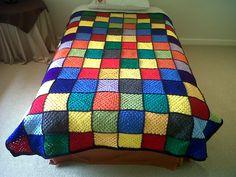 Granny square blankets | nowathome