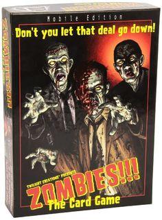 Zombies!!! Gioco di carte [importato da UK]