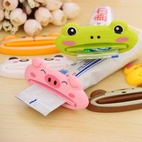 Wish | Multi function automatic toothpaste machine cute cartoon toothpaste squeezing device Cleansing Cream squeezer
