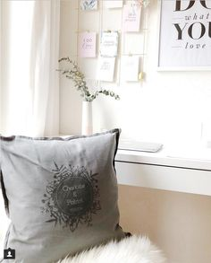Charlotte from Bridesmoments posted about my home and yours custom anniversary cushion with the names of the couple and their wedding date; get your own hand printed from My Home and Yours