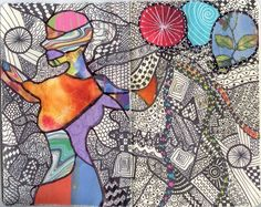 color,pattern, contour drawing, and more!