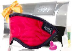 Dream Essentials Sexy Pure Silk Sleep Mask Gift Set with Sleep Serum  #DreamEssentials