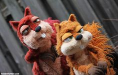 Custom Puppets, Puppet Making, Squirrel, Teddy Bear, Dolls, Funny, Cute, How To Make, Character