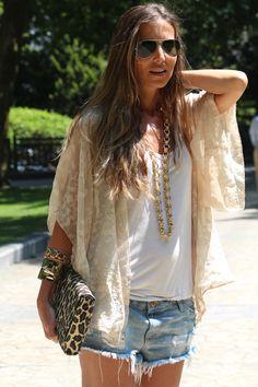 Summer Boho Chic. #fashion #style #streetstyle