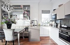 Home Decorating from Inside Avenue / Great kitchen, mixing modern with classic