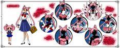 NSG - Usagi Tsukino Info Sheet color by nads6969