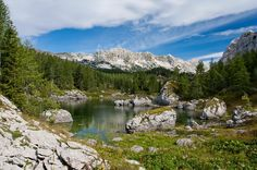 Triglav Lakes Valley--Municipality of Bohinj & Bovec--Upper Carniola Region