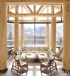 A stylish ski heaven