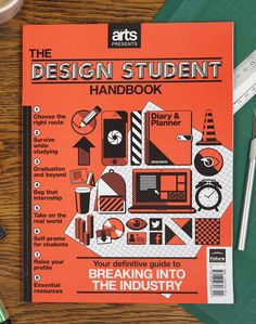 Studying design? Then you need The Design Student Handbook: packed full of pro tips, practical advice and industry insight, it's your essential guide to breaking into the creative industry!