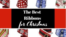 Best Christmas Ribbon for Bows Ribbon On Christmas Tree, Christmas Tree Toppers, Christmas Wreaths, Plaid Christmas, Xmas Trees, Christmas Decorations, Whimsical Christmas, Christmas Crafts, Making Bows For Wreaths
