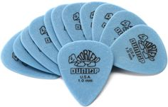 Only at Sweetwater! ✅ Bulk Pricing and ✅ Financing for your Dunlop Tortex Standard Guitar Picks Blue Guitar Shop, Guitar Picks, Cool Guitar, Blue Guitar, Guitar Pedals, Guitar Strings, Microphone Studio, Homemade Carnival Games, Guitar Pick Necklace