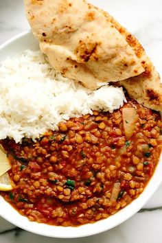 Vegan Two Lentil Dahl This simple vegan two lentil Dahl requires only easy-to-find ingredients and little more than a few chops and several stirs to make. - Vegan Two Lentil Dahl - Healthy Family Idea Vegan Dinner Recipes, Indian Food Recipes, Whole Food Recipes, Cooking Recipes, Healthy Lentil Recipes, Vegan Indian Food, Indian Vegetarian Recipes, Vegan Lentil Recipes, Vegan Dahl Recipe