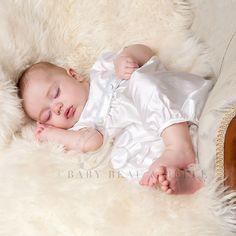 Infant Boy Silk Jumpsuit - Peter Christening & Baptism Collection
