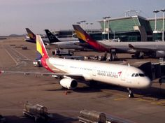 Airbus 321 #aircraft #airport #AsianaAirlines
