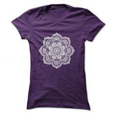 Mandala Shirt T Shirts, Hoodies Sweatshirts. Check price ==► http://store.customtshirts.xyz/go.php?u=https://www.sunfrog.com/Faith/Mandala-Shirt-Purple-Ladies.html?41382