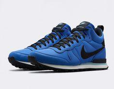 #Nike Internationalist Mid QS Blue #sneakers
