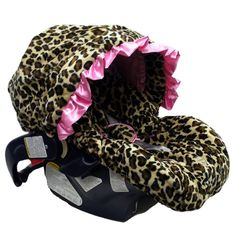 @LaylaGrayce #leopard infant car seat cover #pinparty