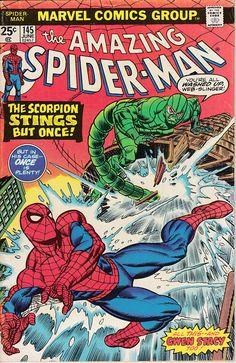 Amazing Spider-Man 145 1963 1st Series June 1975  Marvel