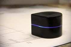 The Mini Mobile Robotic Printer - finally, a printer that slips into your bag and can be grab with just one hand. yes. the pic there IS a printer.