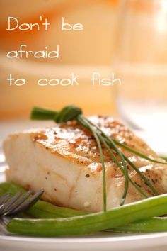 How to Cook Pan-Fried Cod and other tips for fresh fish and shellfish