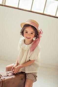 #LouieTucker | Micca April Linen Blouse – Greenberry Kids